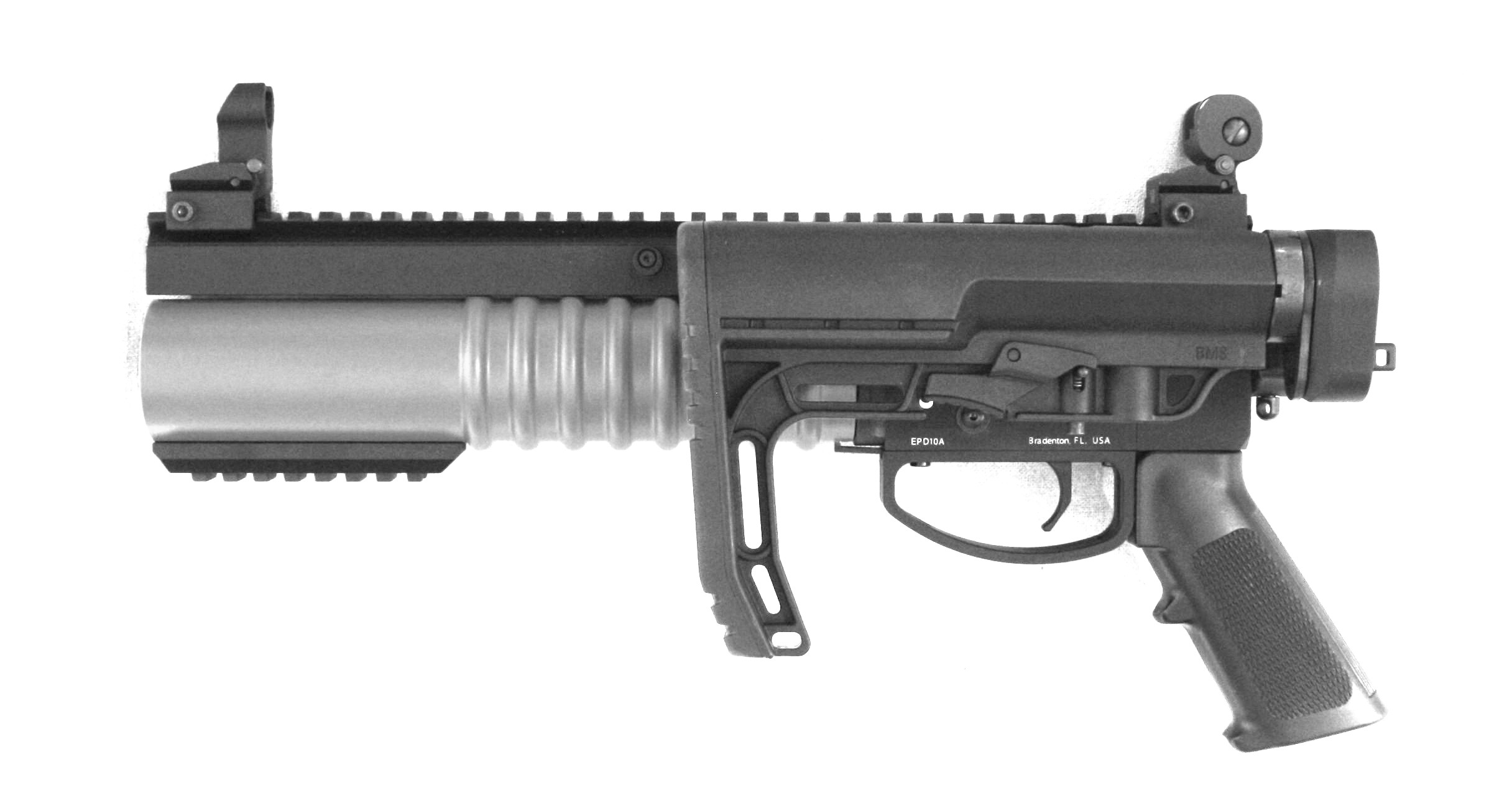 Tad-D with folded stock