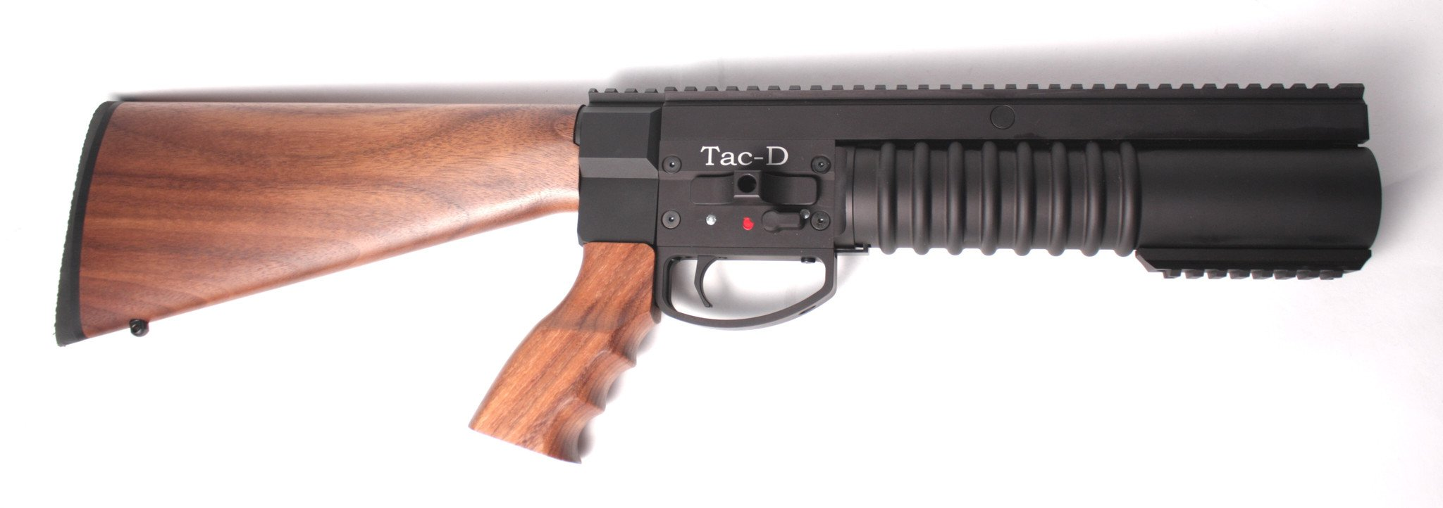Tac-D Launcher with AR Wood Stock