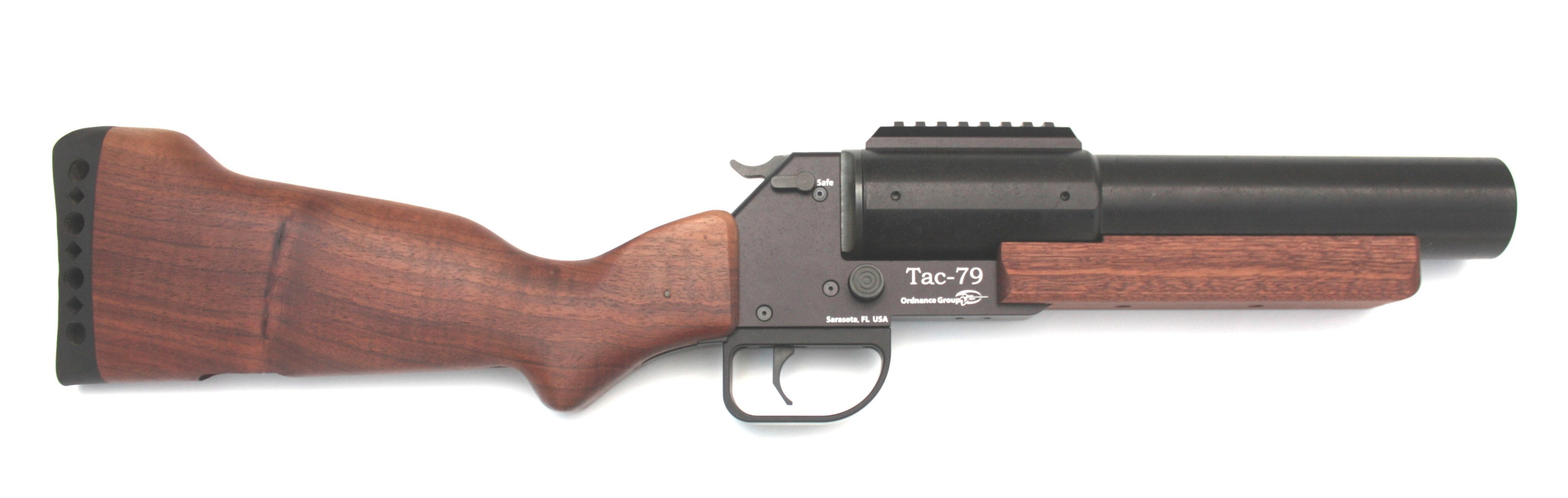 Tac-M79 37mm Wood Stocked Top Break Launcher