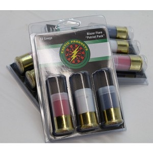 12ga. Blazer Flares <br>3-Pack  Many different colors